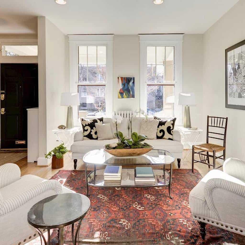 Living Room Transitional Design Jlcteam