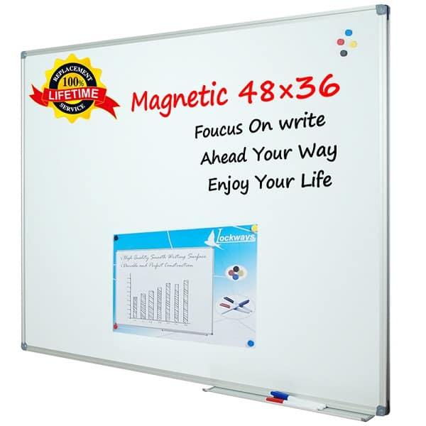 Lockways Mountable Magnetic Whiteboard