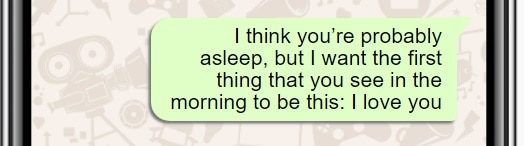 Lovey Goodnight Text For Her