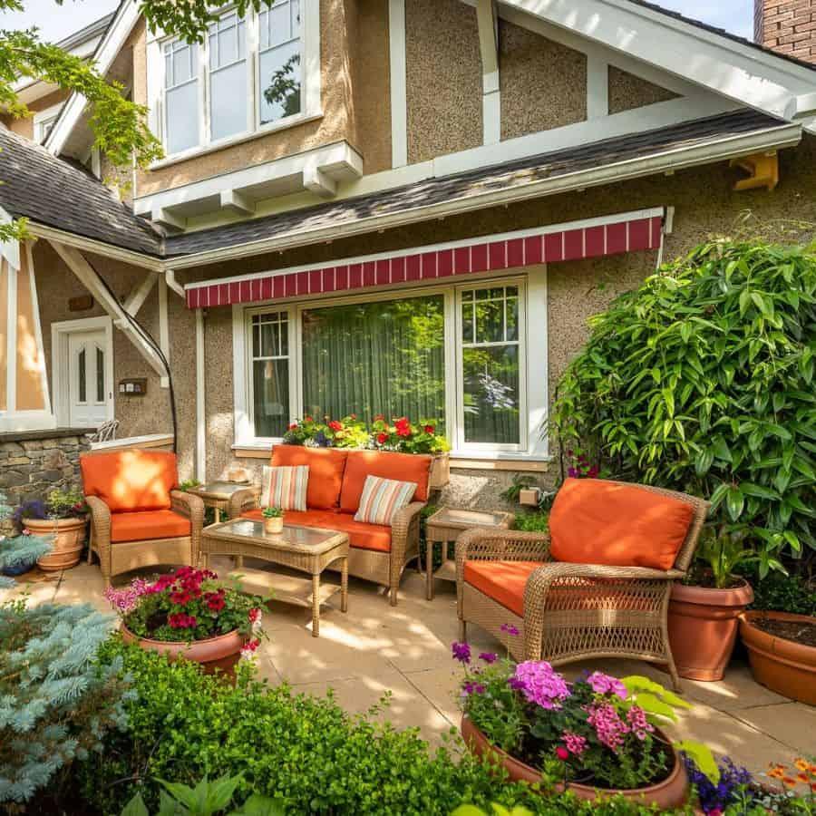 Low Budget Garden Patio Ideas Vandenberglandscapes
