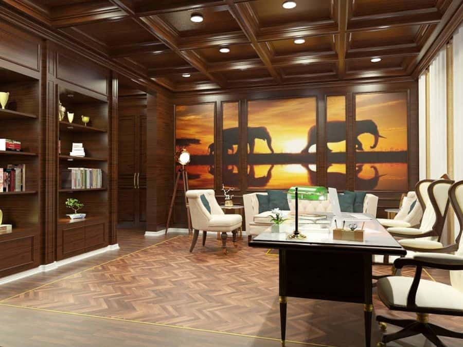 Luxury Study Room Ideas _nac_studio_
