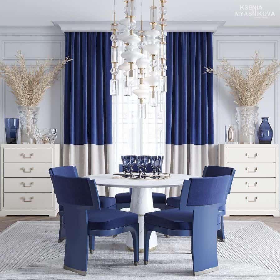 Luxury dining room lighting ideas 2 kseniamyasnikova