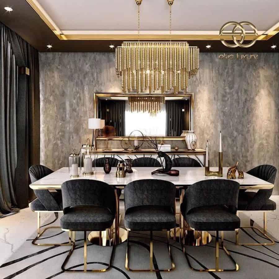 Luxury dining room lighting ideas cataluxe_homes