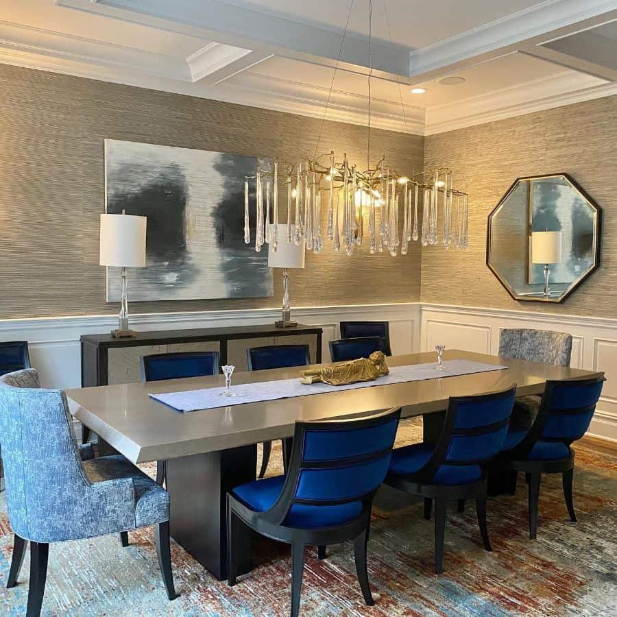 Luxury dining room lighting ideas karla_trincanell_int.decisions