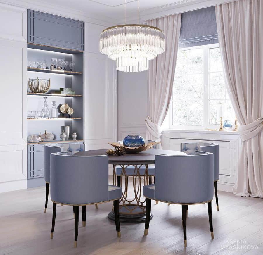 Luxury dining room lighting ideas kseniamyasnikova