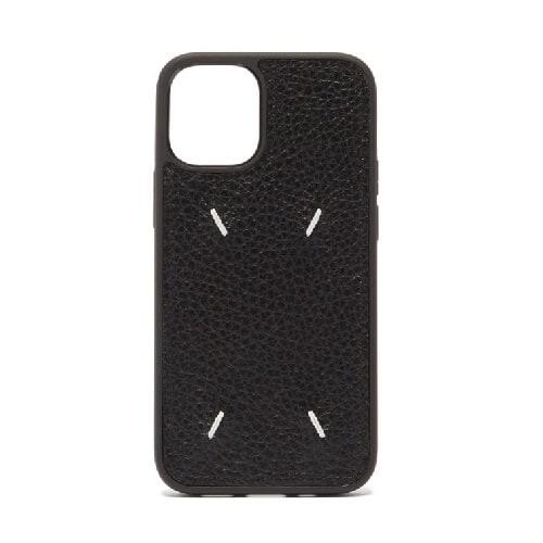 Maison Margiela Four-Stitch Leather iPhone Case