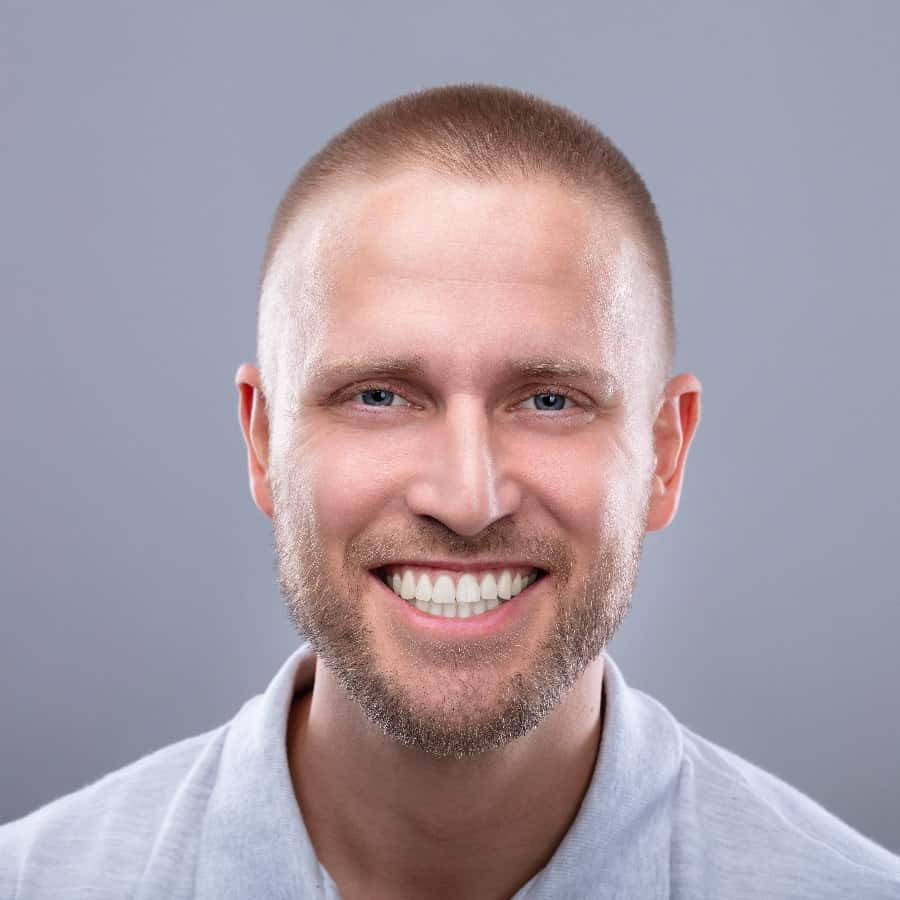 Man With Short Hair
