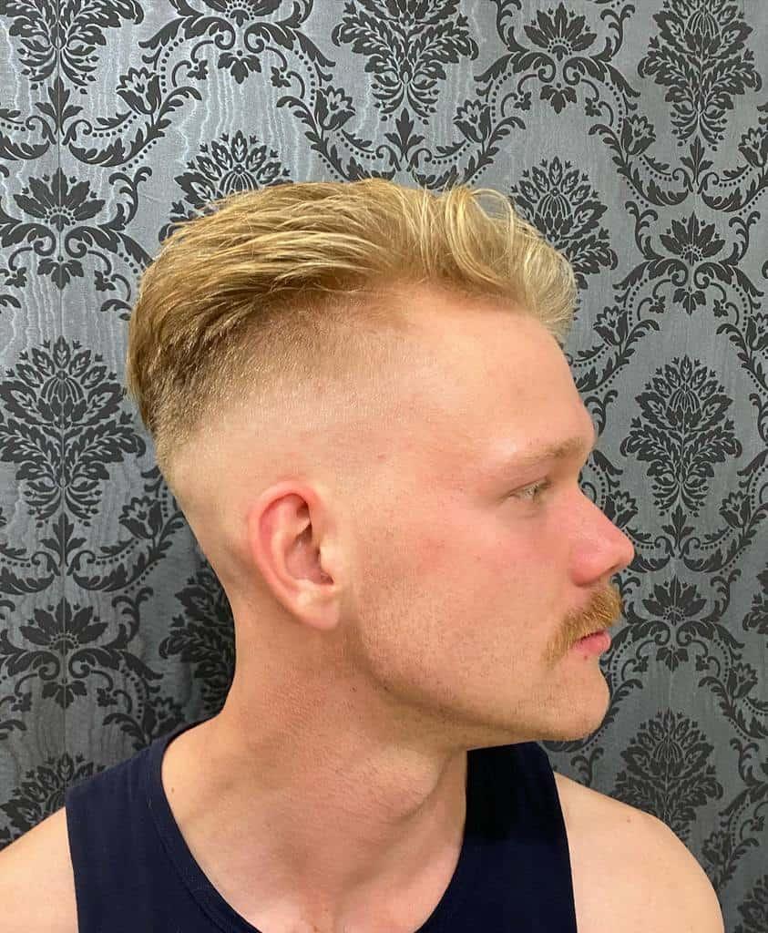 Man with blond hair and blond highlights-kaitlyn_globecreative