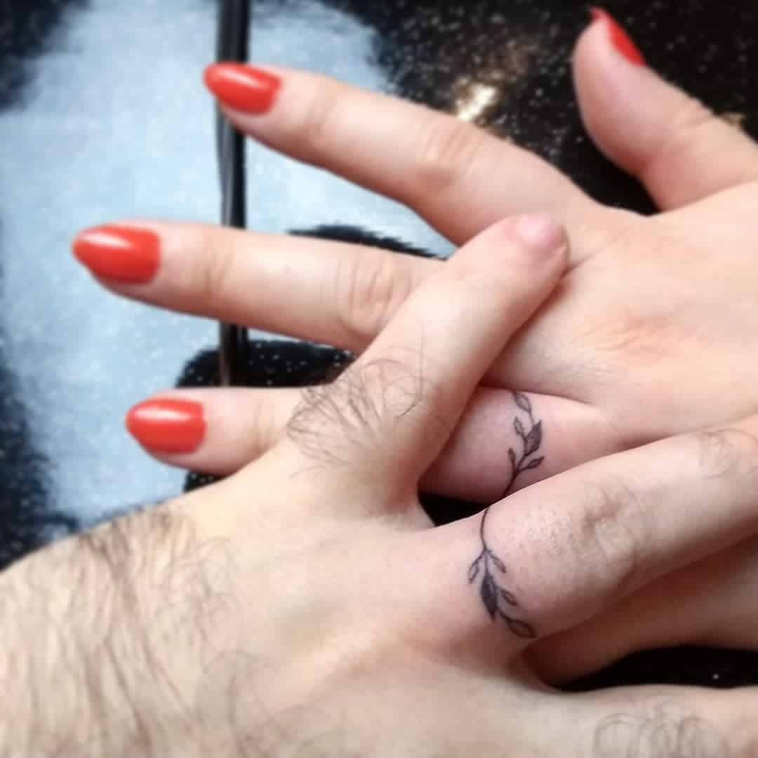 Married Matching Tattoos anahommer