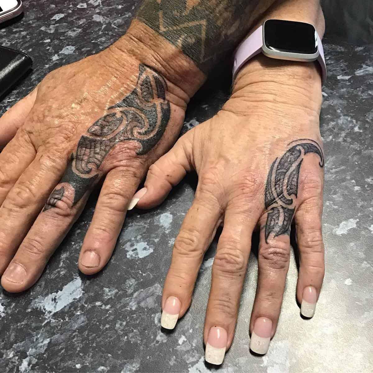 Married Matching Tattoos zillabitattoo