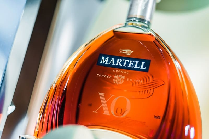 Martell Cognac Bottle