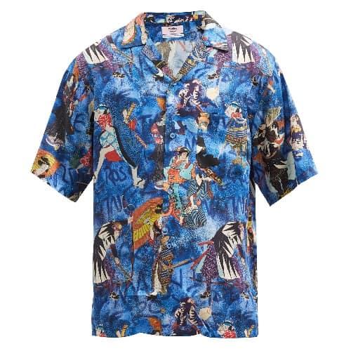 Martine Rose Japanese-printed Shirt