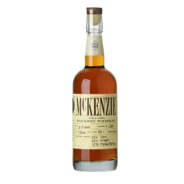 McKenzie Single Barrel Cask Strength Wheated Bourbon Whiskey