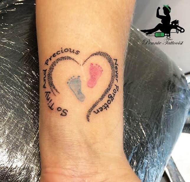 Memorial Miscarriage Tattoos -femininktattoo