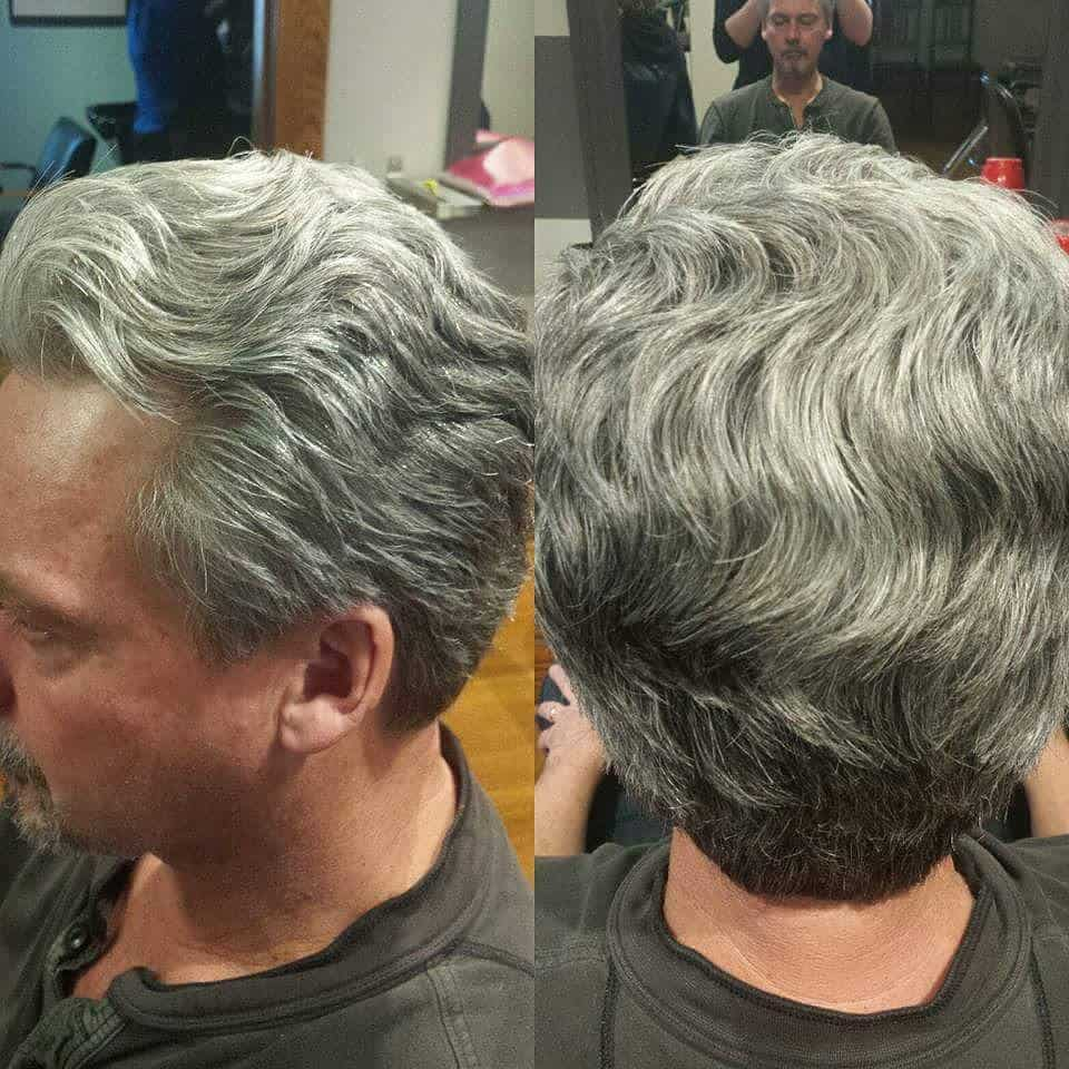 17 Best Men S Hairstyles For Gray Silver Hair In 2020