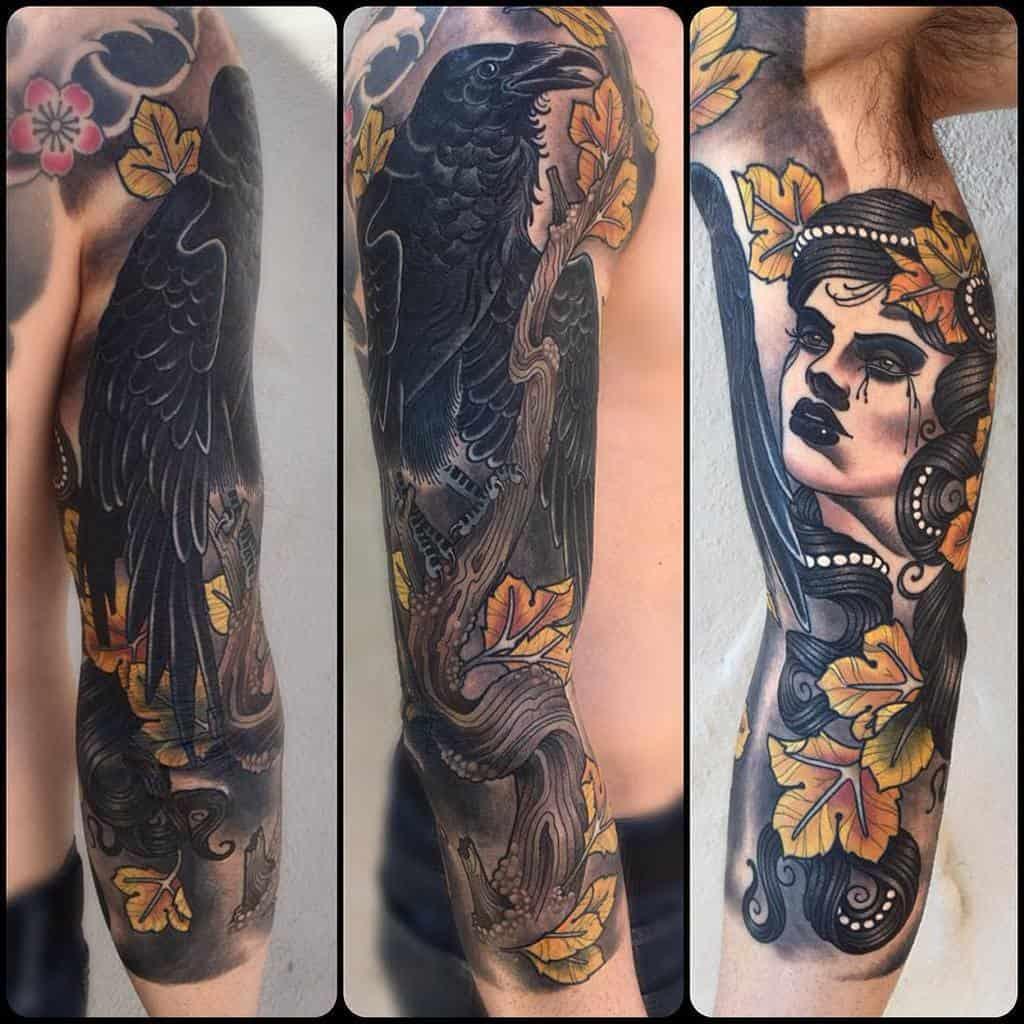 Men 34 sleeve tattoo soular_tattoo_maui