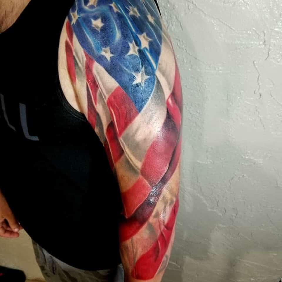 Men 34 sleeve tattoo the_flying_paramagician