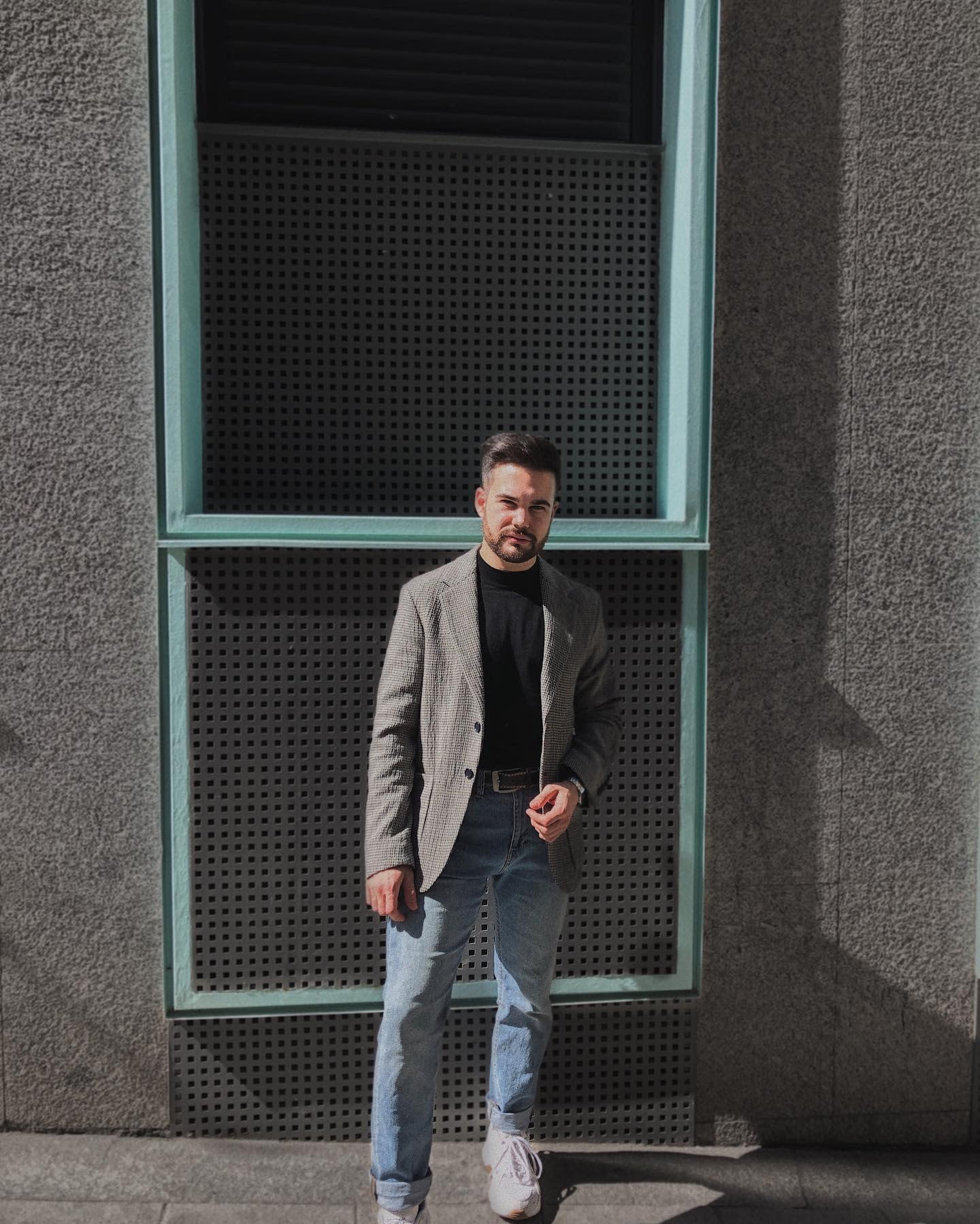 Herren Formal Wear Blazer -aitorruiz107