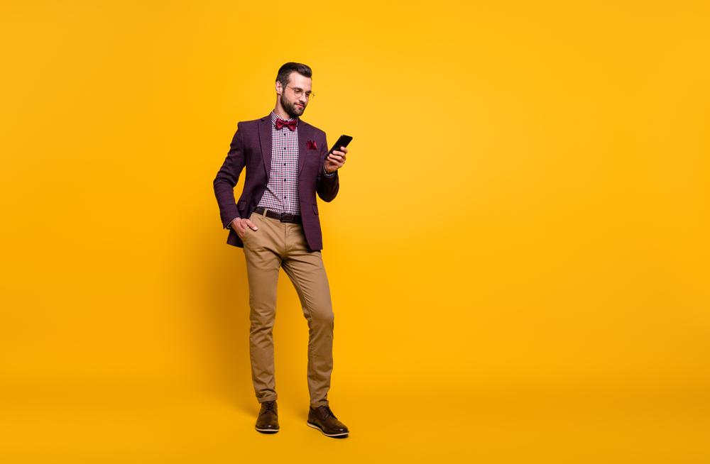 Blazer Herren Formelle Kleidung 3