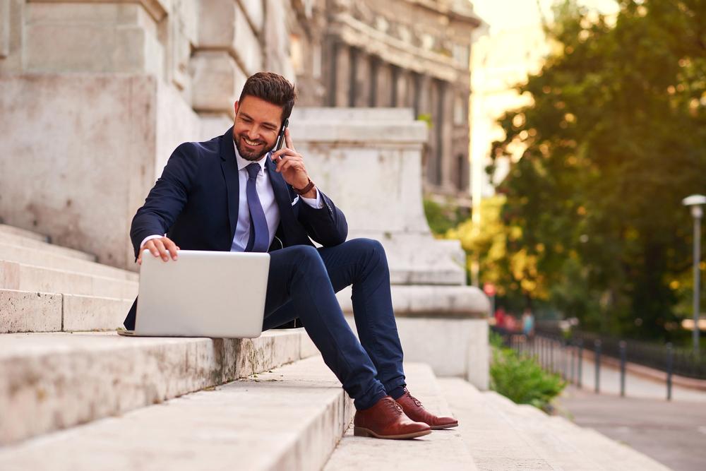 Formelle Kleidung für Herren im Büro