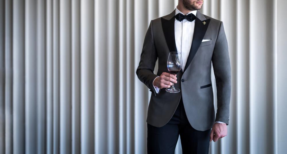 Smoking Herren Formelle Kleidung 4