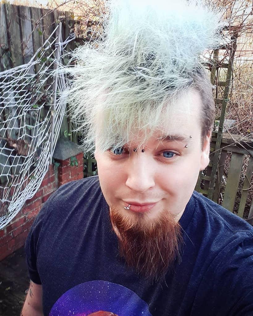 Messy Undercut With Spiky Hair lustsadist