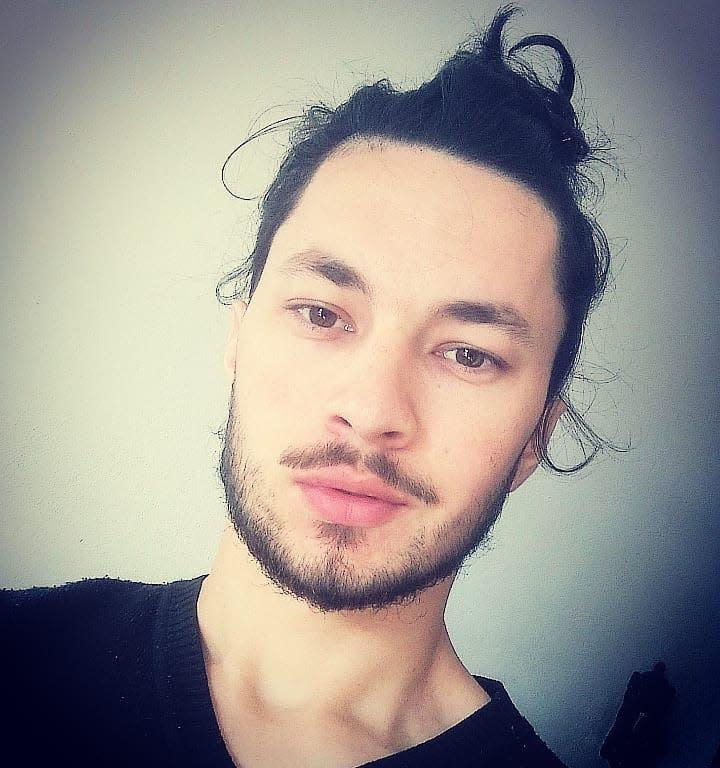 Messy Undercut for Long Hair iamjonaspaiva