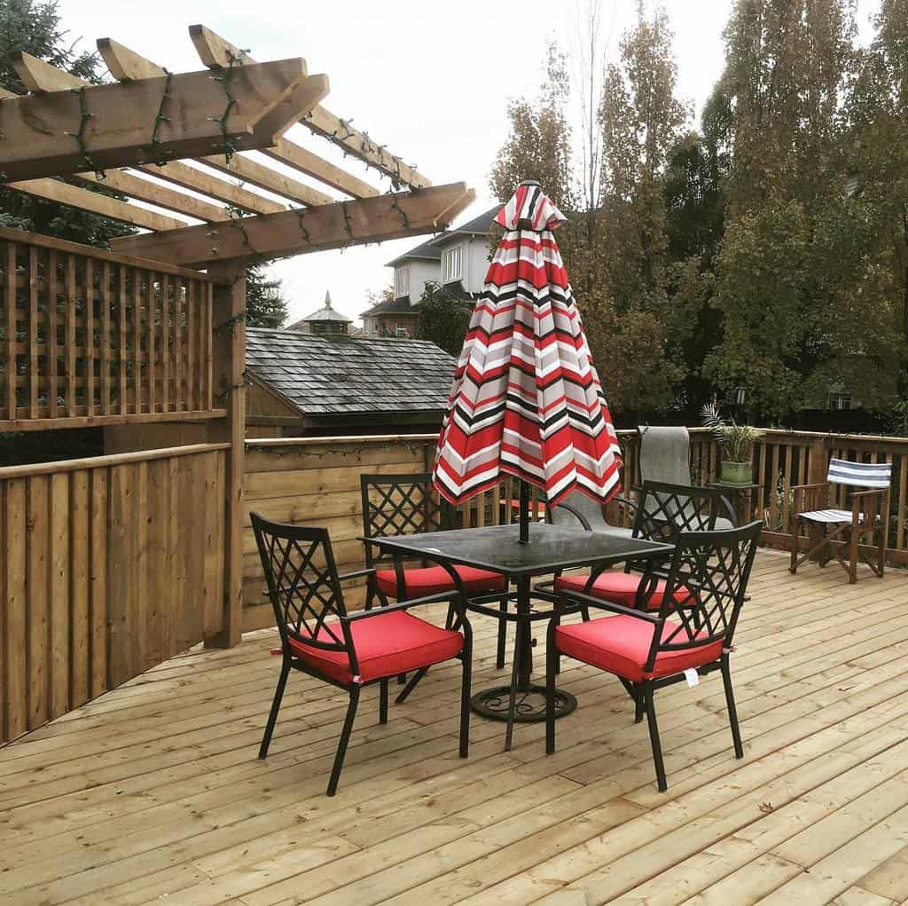 Metal Deck Privacy Ideas -countrycreekhomes
