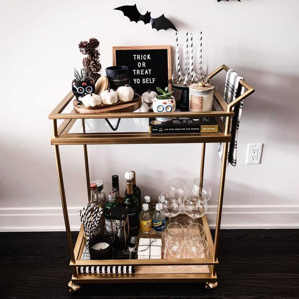 Modern Bar Cart Ideas -_everydayariana