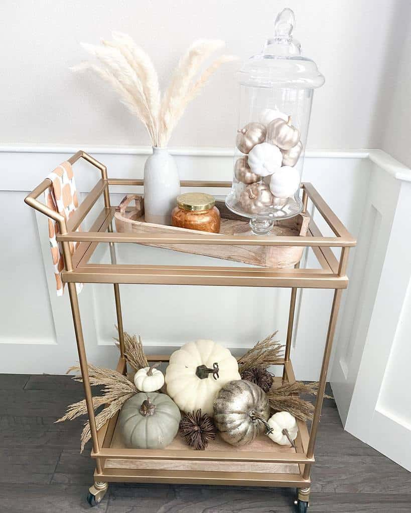 Modern Bar Cart Ideas -athomewithjamiejo
