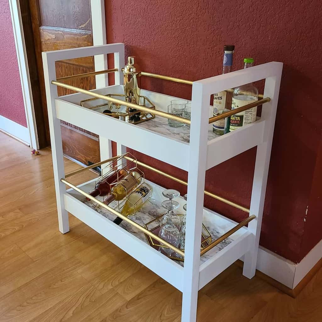 Modern Bar Cart Ideas -hollewoodfurniture