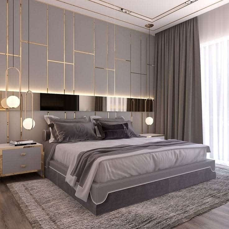 Modern DIY Headboard Ideas -ah.interiorarchitect