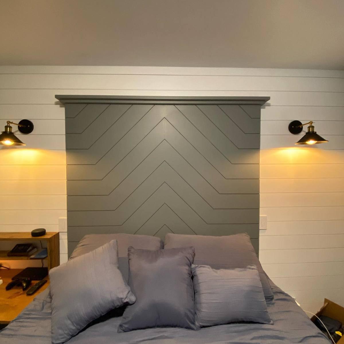 Modern DIY Headboard Ideas -faberconstructionservices
