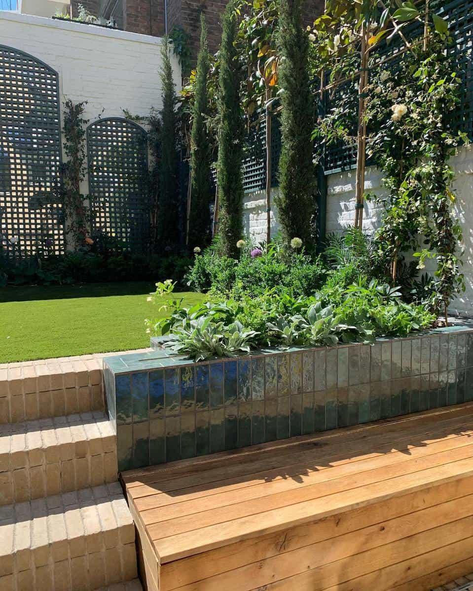 Modern Design Garden Bench Ideas -joshuasear__barlowandbarlow