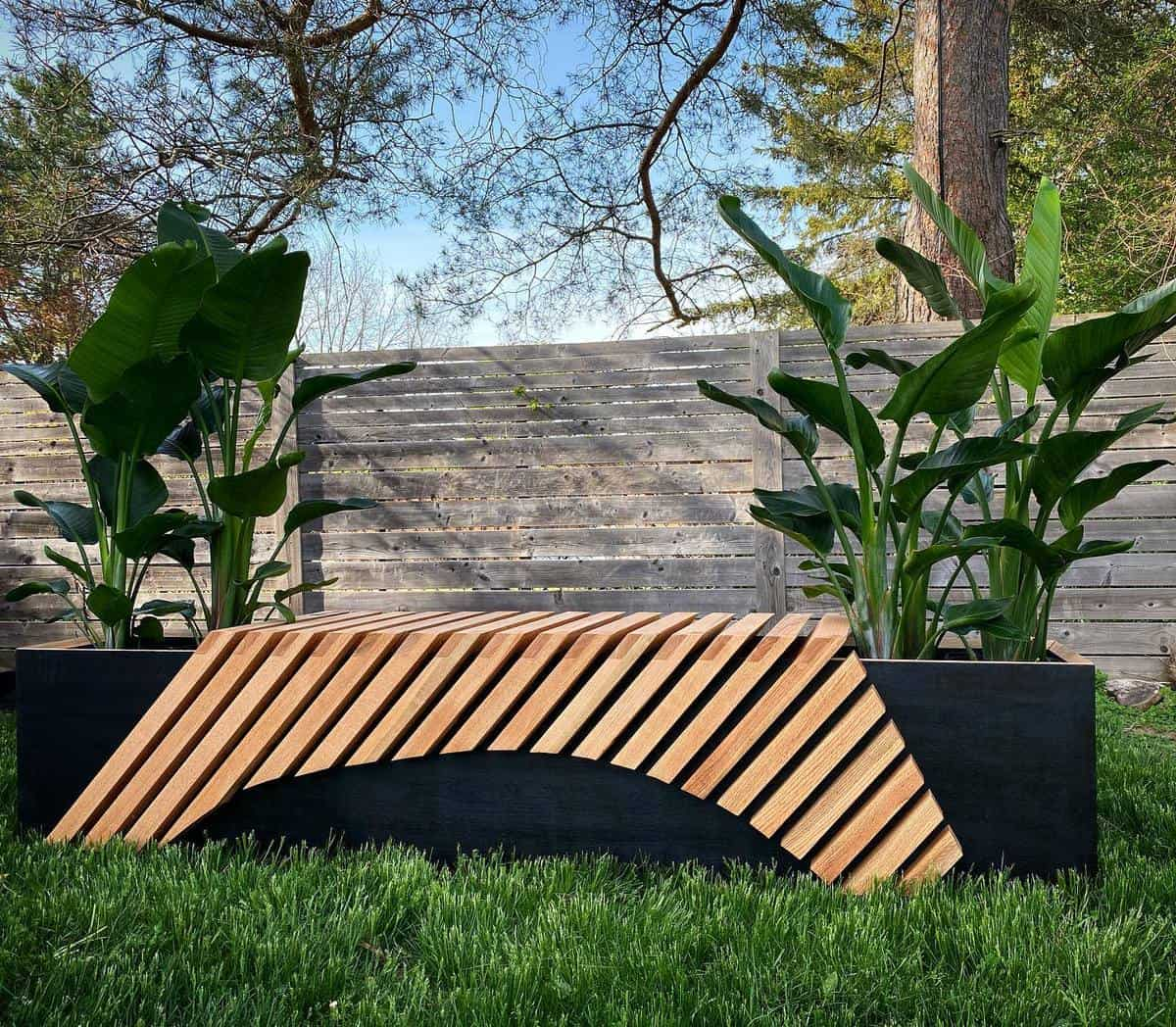 Modern Design Garden Bench Ideas -pompousfoxwoodco