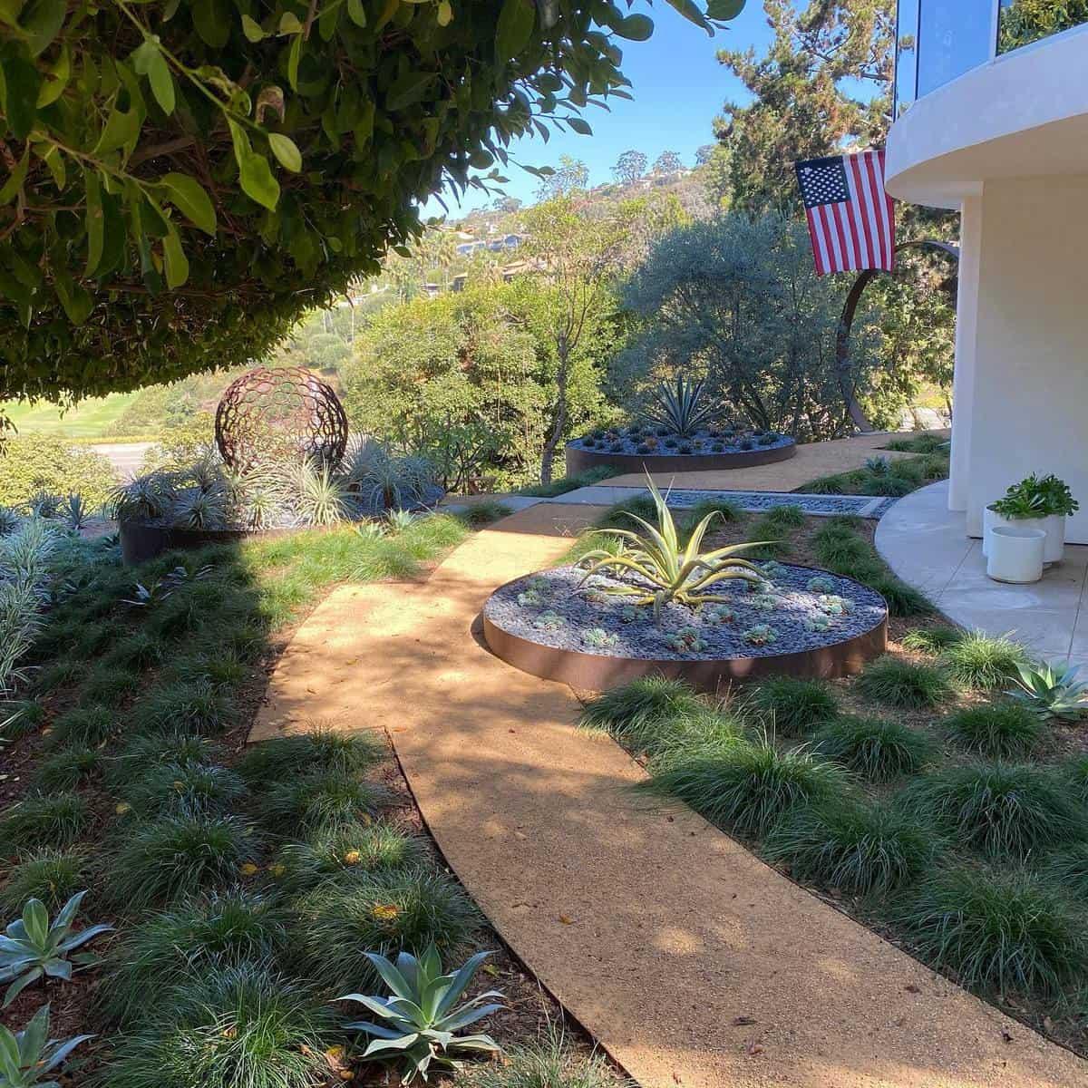 Modern Landscape Grass Free Yard Ideas -cdladesign