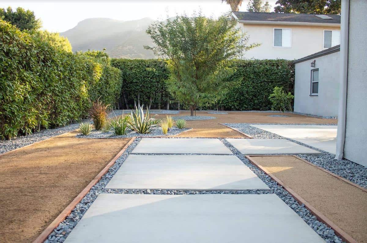 Modern Landscape Grass Free Yard Ideas -floresartscape