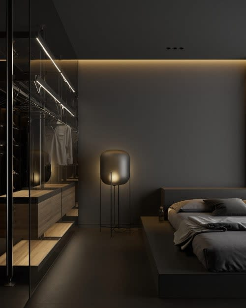 floor lamp bedroom lighting ideas