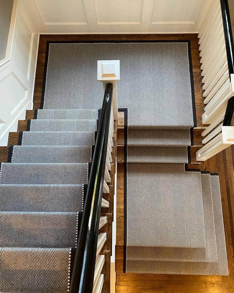 Modern Stair Runner Ideas -connecticut_carpet_consultants