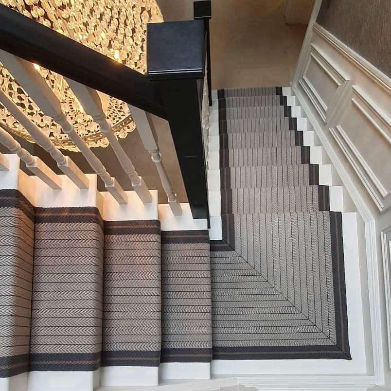 Modern Stair Runner Ideas -the_good_room_