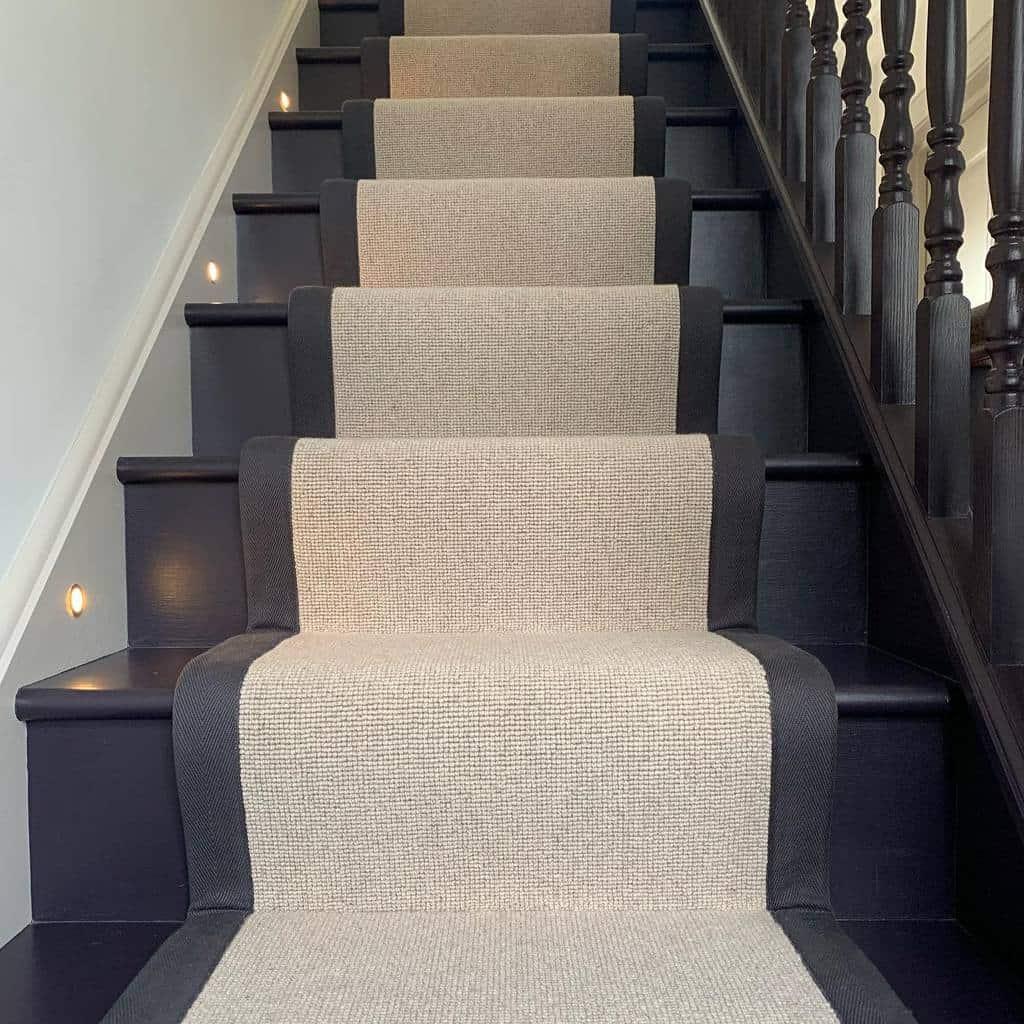 Modern Stair Runner Ideas -thecharterleahome
