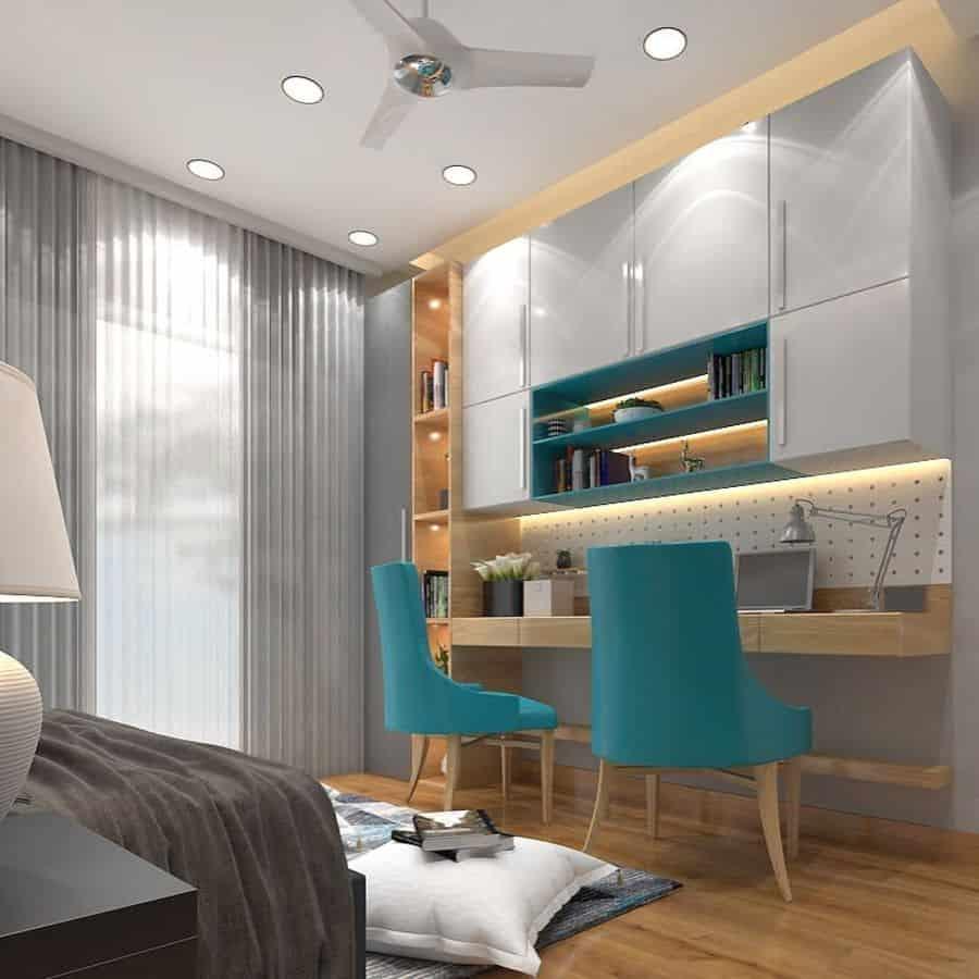 Modern Study Room Ideas aartimehtadesigns
