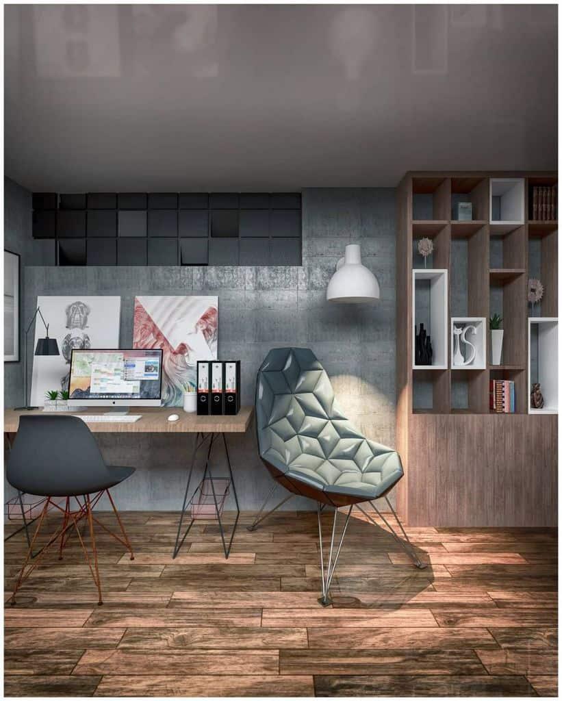Modern Study Room Ideas minima_studio_