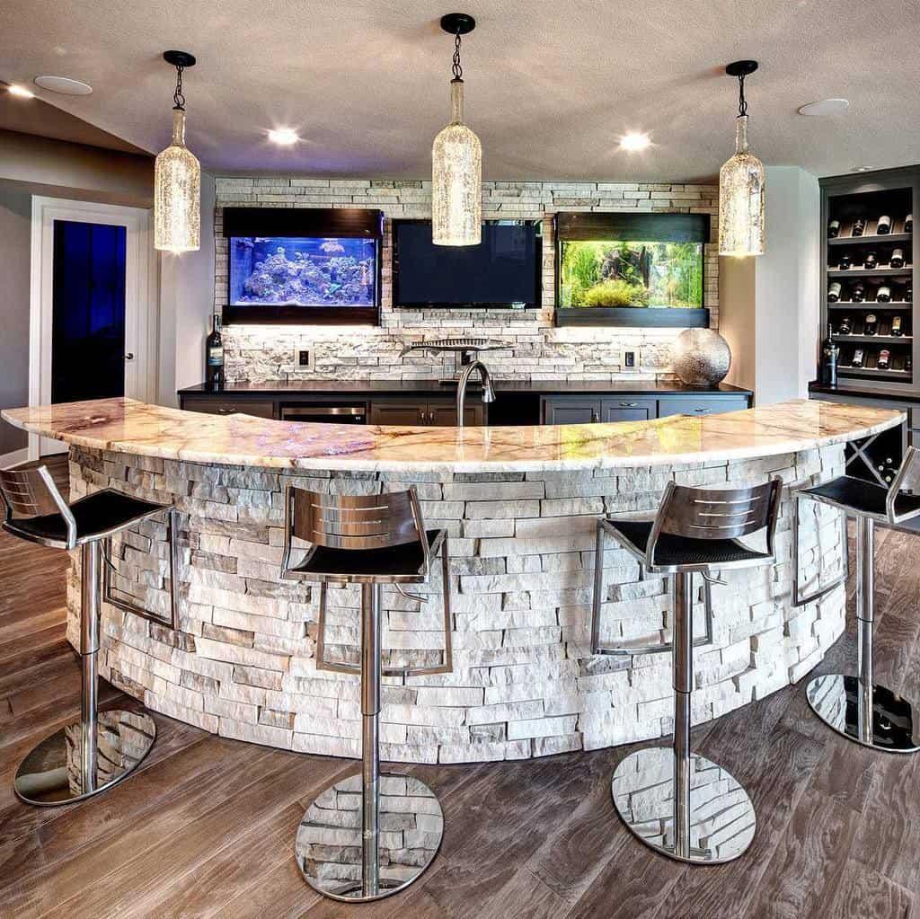 Modern Wet Bar Ideas starrhomes