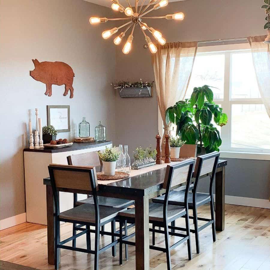 Modern dining room lighting ideas aps_design
