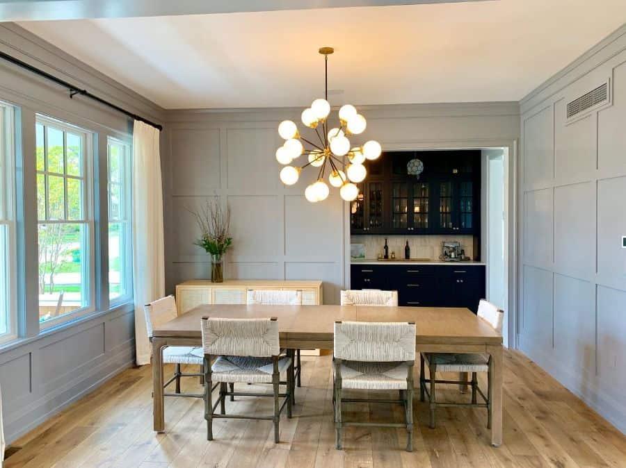 Modern dining room lighting ideas builtforone