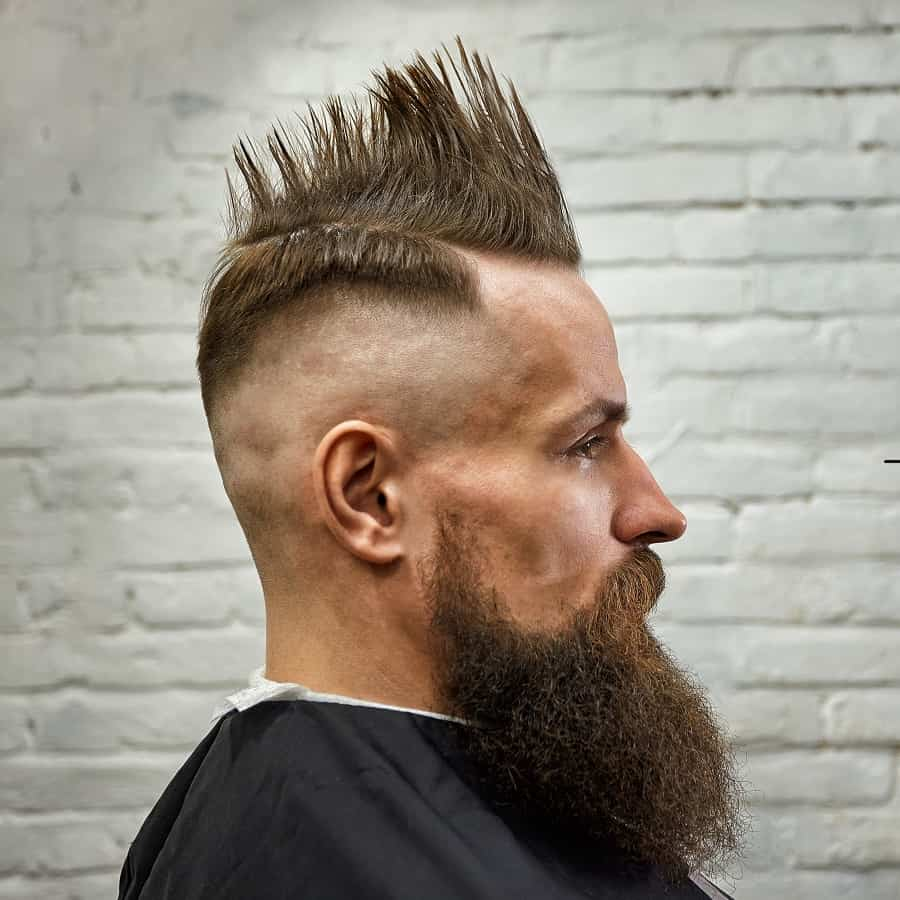 Mohawk With Thin Sides