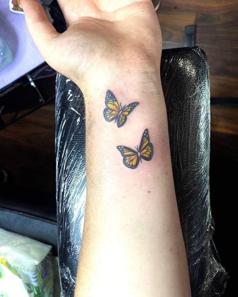 Monarch Butterfly Tattoo amyshawtattoo