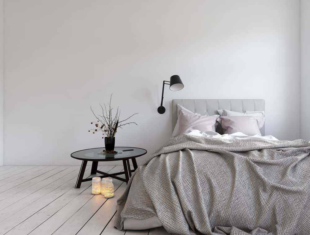 scandinavian boho apartment bedroom ideas