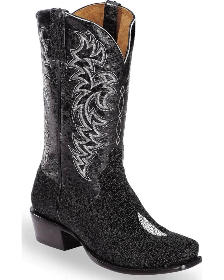 Moonspirit Stingray Exotic Boots